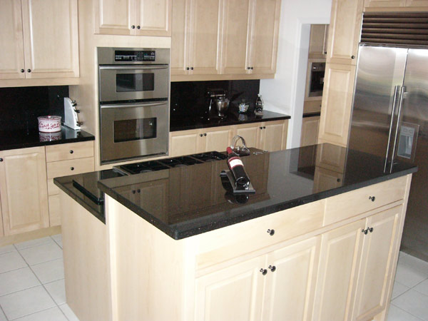 how to cut existing granite countertop