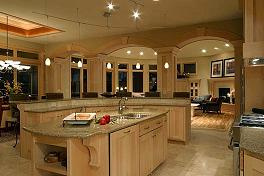 when looking for a granite countertop for your kitchen space you will have to consider its weight and thickness in order to make a wise choice