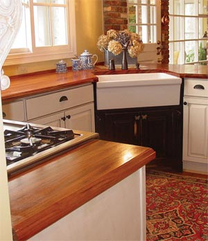 Wooden Kitchen Countertop Varieties