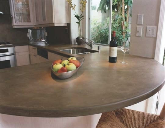 Kitchen Counter Tops Concrete Countertop