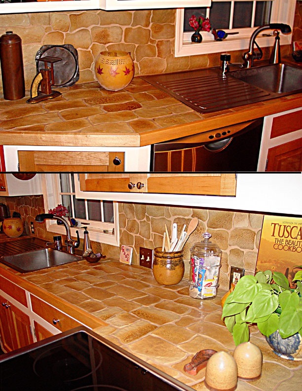 Stones For Kitchen Countertops : Stone Countertops Caring For Stone Countertops