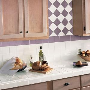 Ordinaire Ceramic Tile Countertops Are The Perfect Choice For Redecorating Or  Designing Your Kitchen Space As They Can Stand Grease, Scrape And Heat  Temperature.
