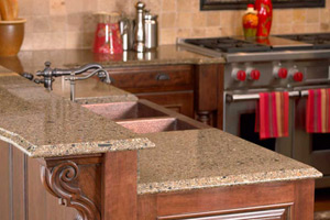 Charmant Quartz Countertops Are Among The Latest Worry Free Alternatives To The More  High Maintenance Granite. Quartz Countertops Require No Sealing, Are  Stronger ...