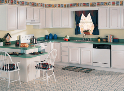 Country Casual Kitchen Cabinets