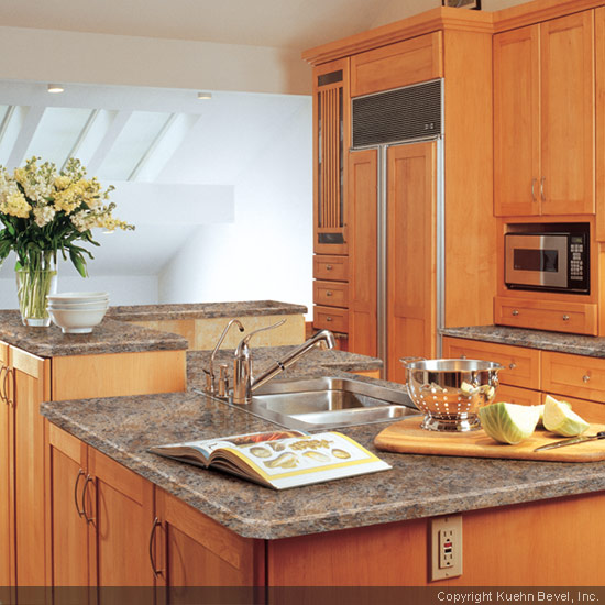 Using A Laminate Countertop As The Focal Point Of The Kitchen