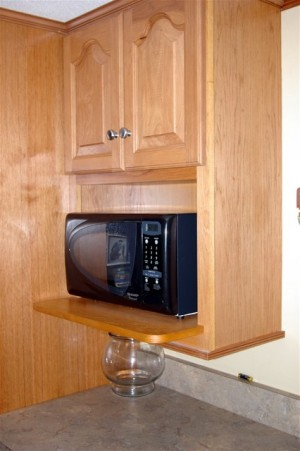 Who Wants To Take Up Valuable Kitchen Countertop Space With A Microwave  Oven? You Can Save Valuable Countertop Space And Keep Your Kitchen Design  Looking ...