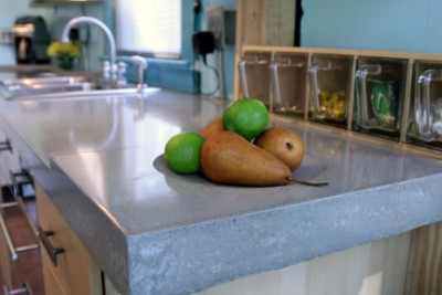 Kitchen Counter Tops on Design Enhance Your Kitchen Design With Quikrete Concrete Countertops