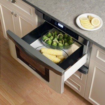 Save Space With a Sharp Microwave Drawer