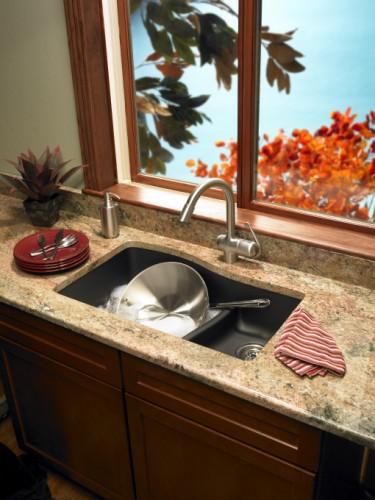 Swanstone large small bowl sink